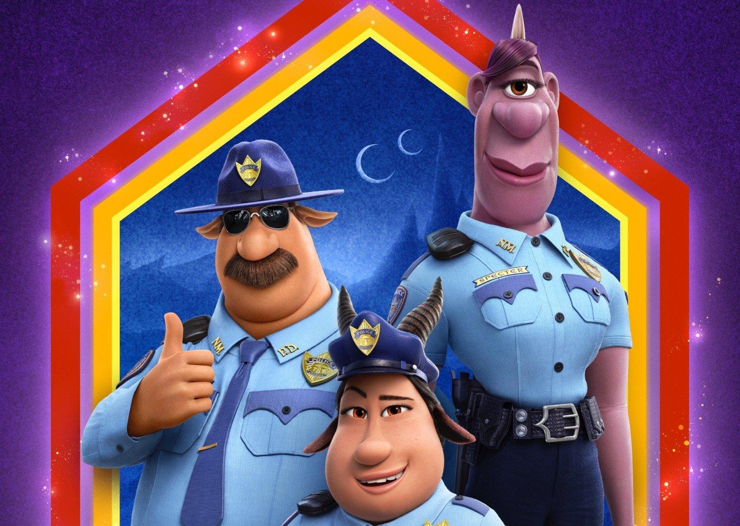 Os policiais