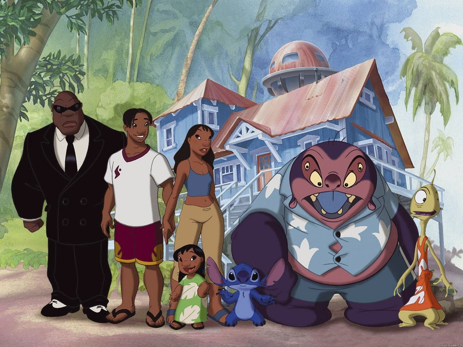 Personagens de Lilo & Stitch