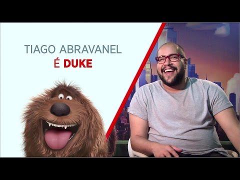 Tiago abravanel é a voz do Duke na versao brasileira
