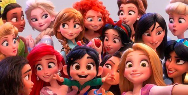 Venellope com as princesas