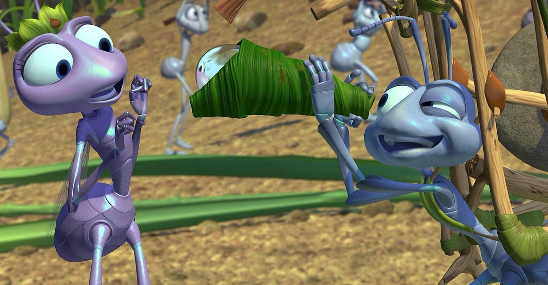 Vida de inseto-Flik e Atta