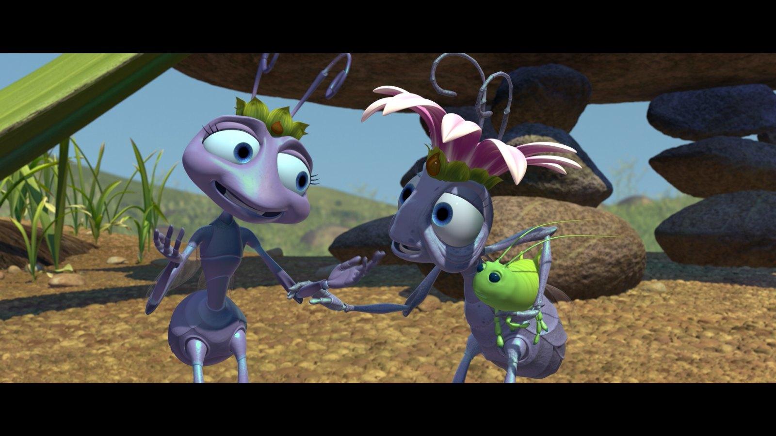 Vida de inseto-Princesa Atta e a Rainha
