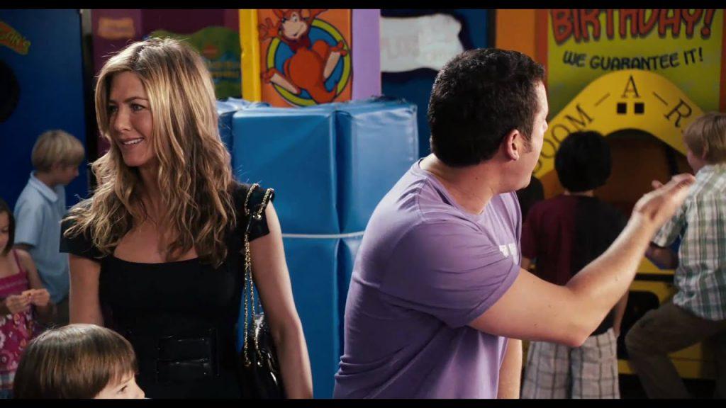 Jen e Adam no filme