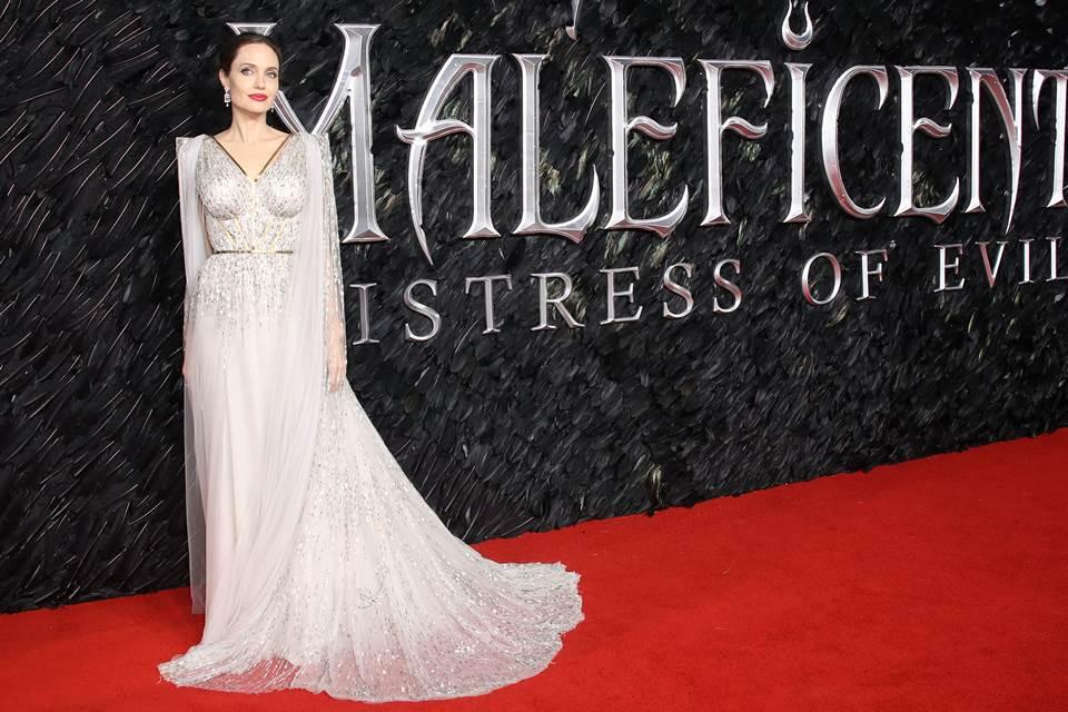 Angelina Jolie no lançamento do filme