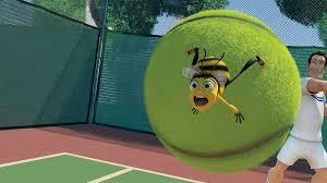 Barry na bola de tenis