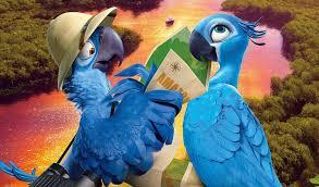 Blu e Jade na amazonia