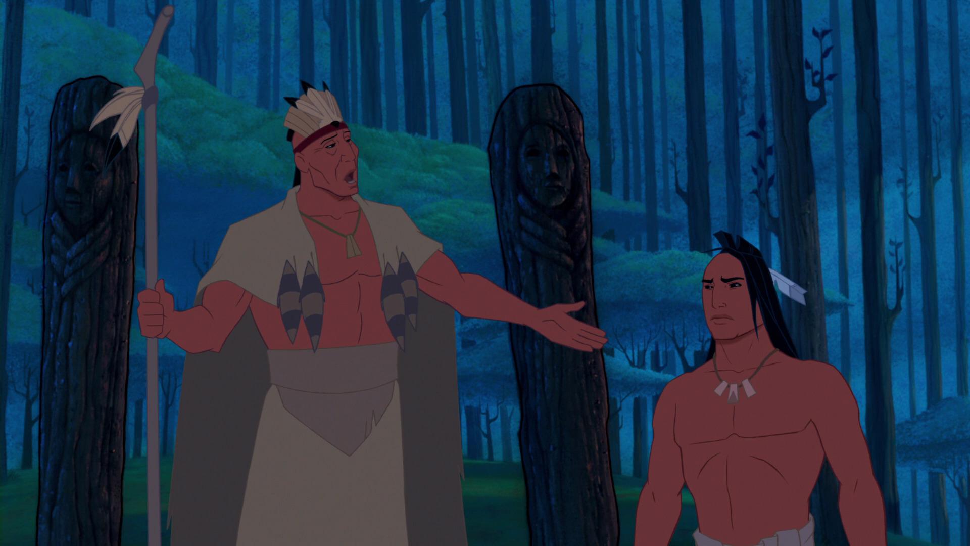Chefe Powhatan e Kocoum