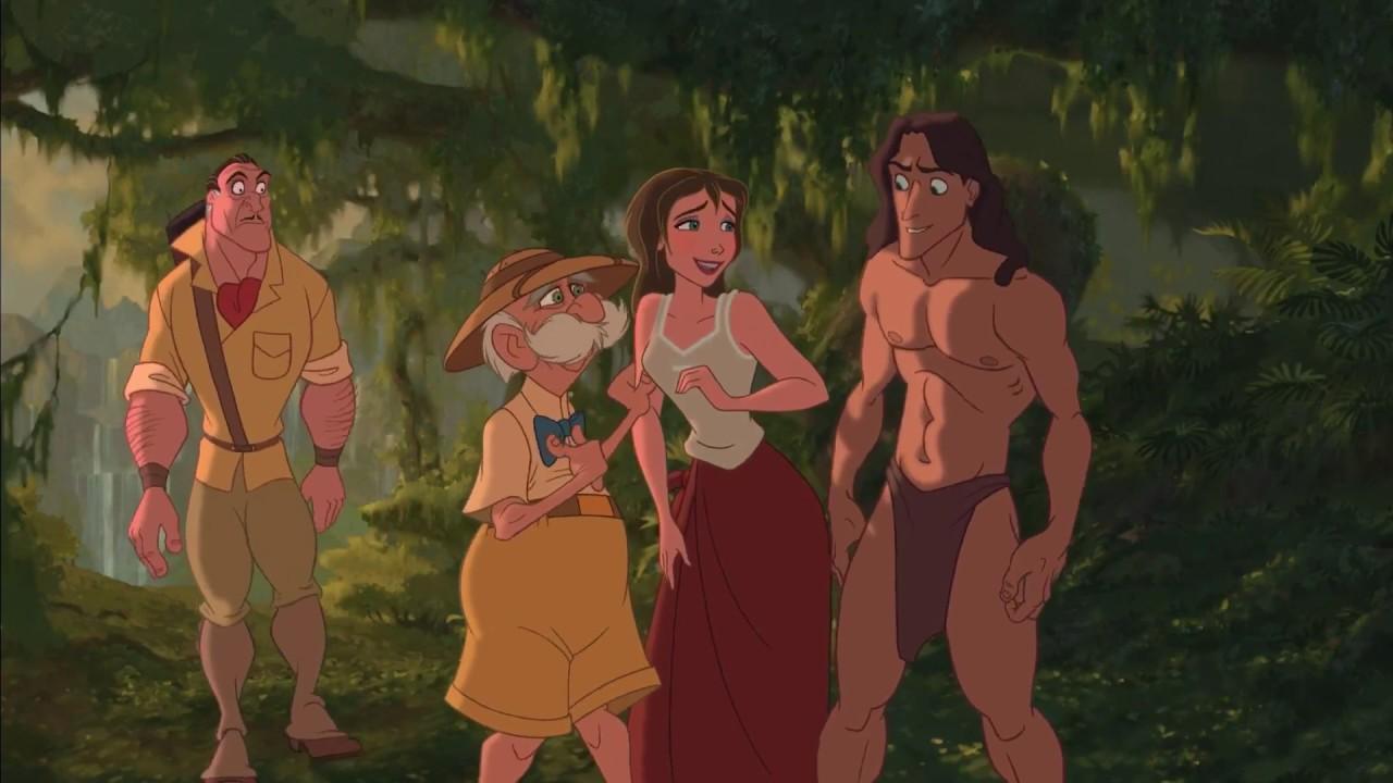 Clayton,Professor,Jane e Tarzan