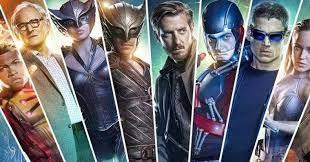 promocional personagens legends of tomorrow