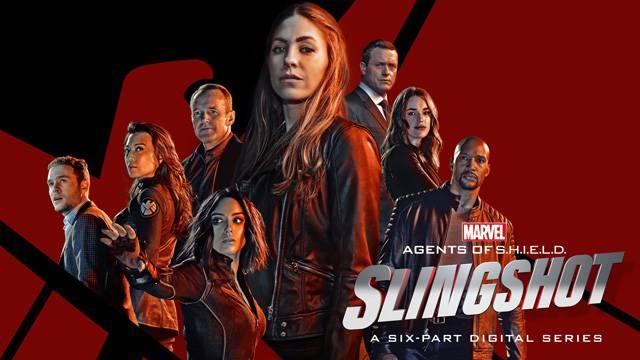 promocional agentes da shield: slingshot