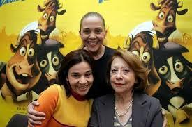Isabela Garcia,Claudia Rodrigues e Fernanda Montenegro dubladoras das vacas versao brasileira