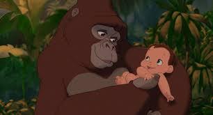 Kala e Tarzan bebê