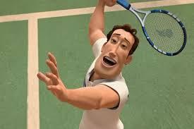Ken jogando tenis