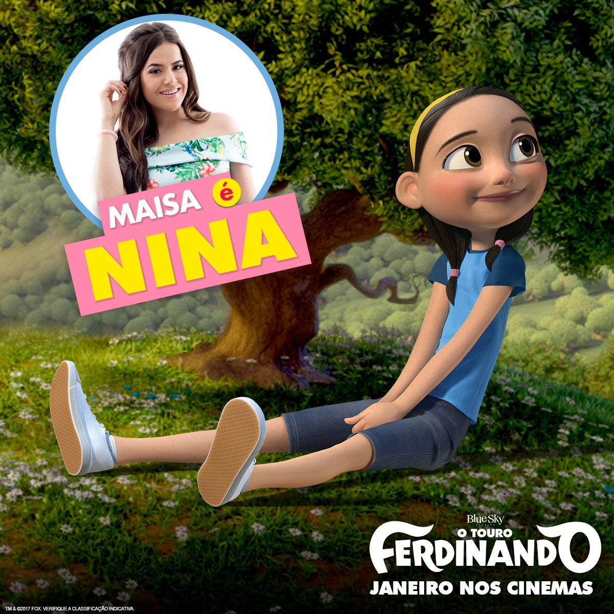 Maisa voz da Nina versao brasileira