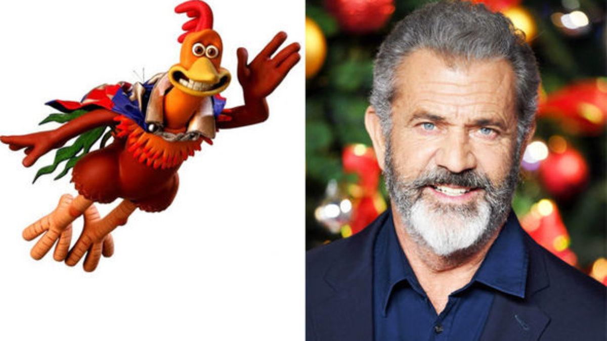 Mel Gibson dublador do Rocky