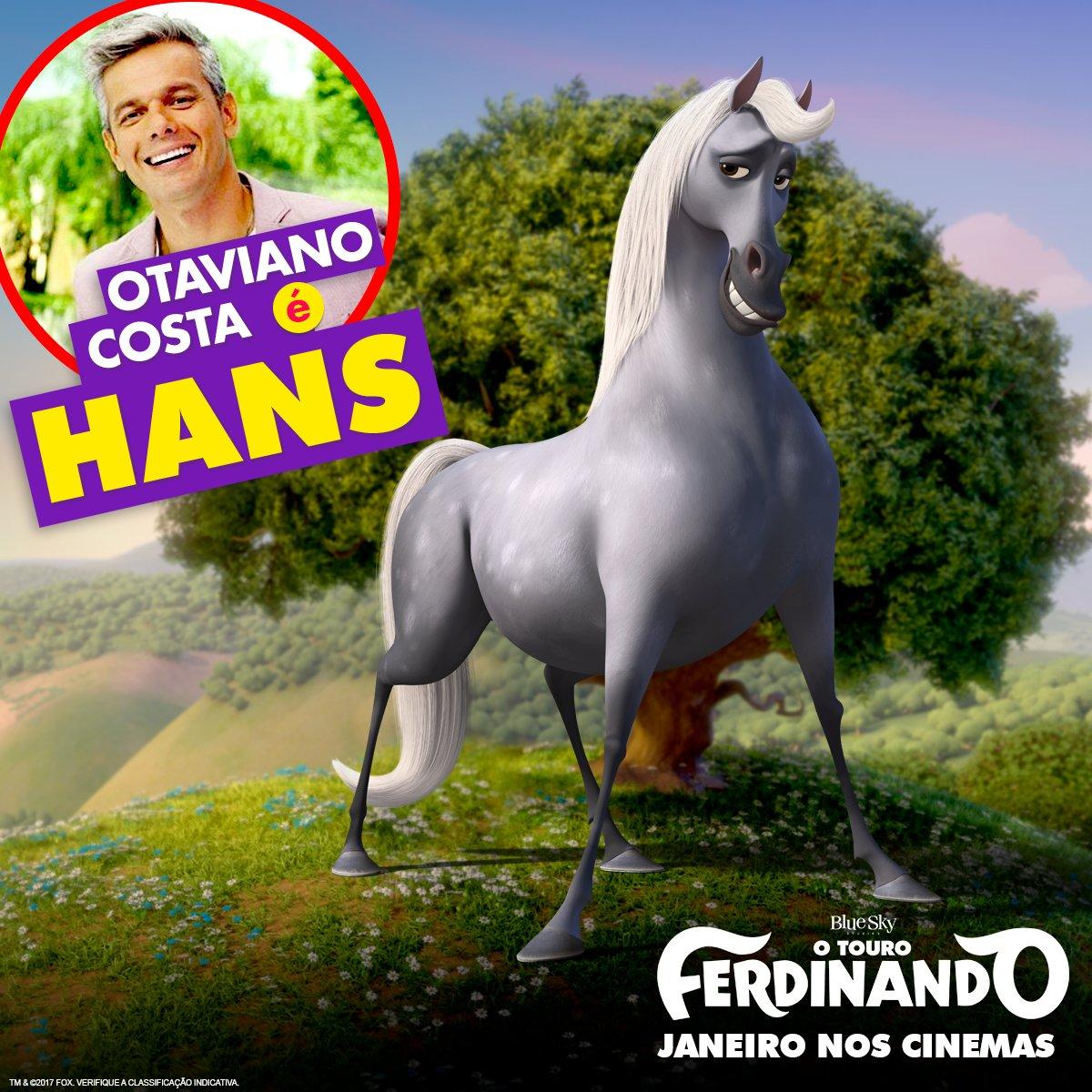 Otaviano Costa voz do Hans versao brasileira