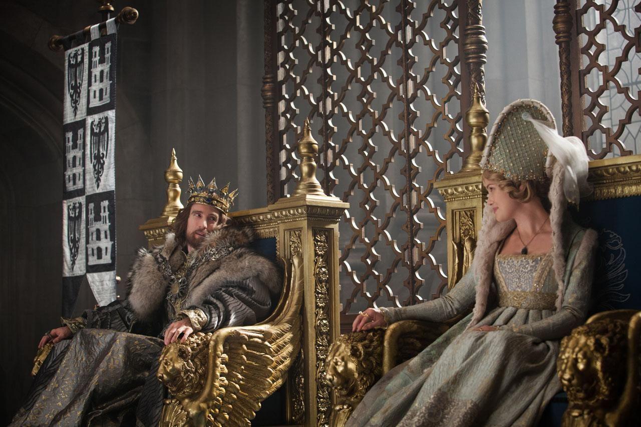 Rei Stefan e Rainha Leila