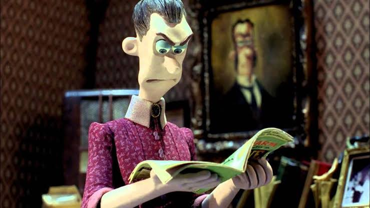 Sra Tweedy lendo