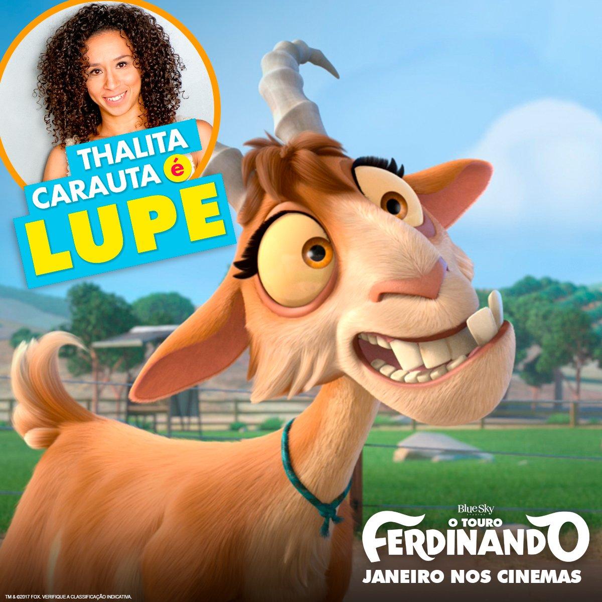 Thalita Carauta voz da Lupe versao brasileira