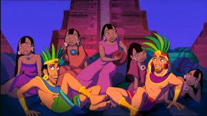 Tulio e Miguel com garotas