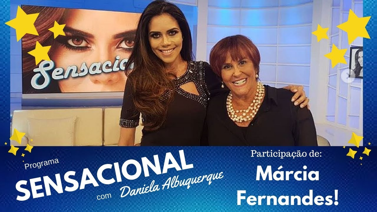 A sensitiva Marcia Fernandes participa do programa