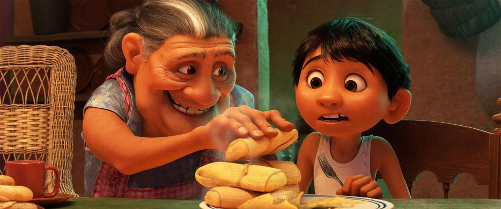 Abuelita e Miguel
