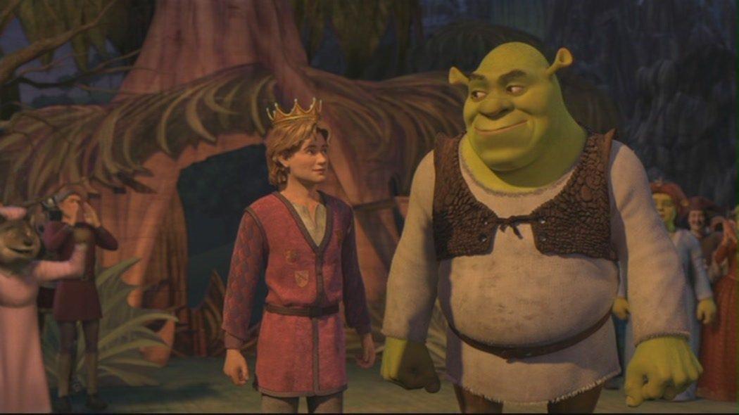 Arthur e Shrek