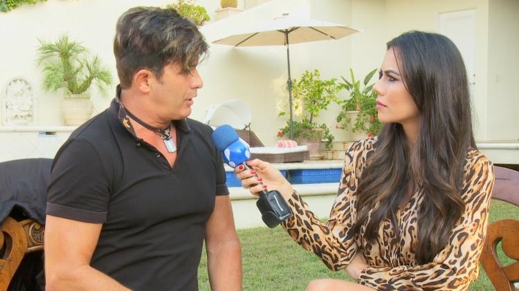 Dani Albuquerque entrevista Dr.Rey para o programa Sensacional