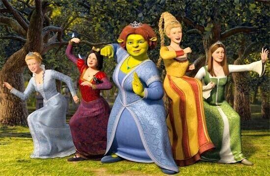 Fiona e as princesas