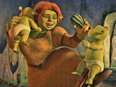 Fiona e os bebês
