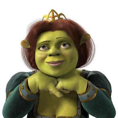 Fiona em sua forma de ogro