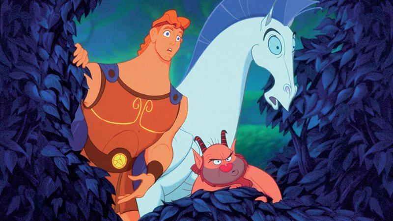 Hercules,Pegasus e Phil