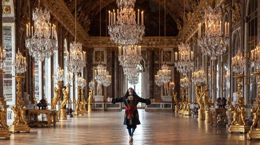 dentro palácio de versailles
