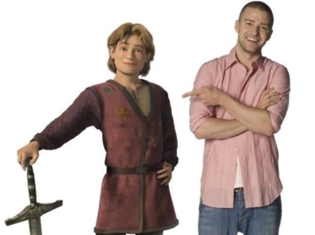 Justin Timberlake dublador do Arthur