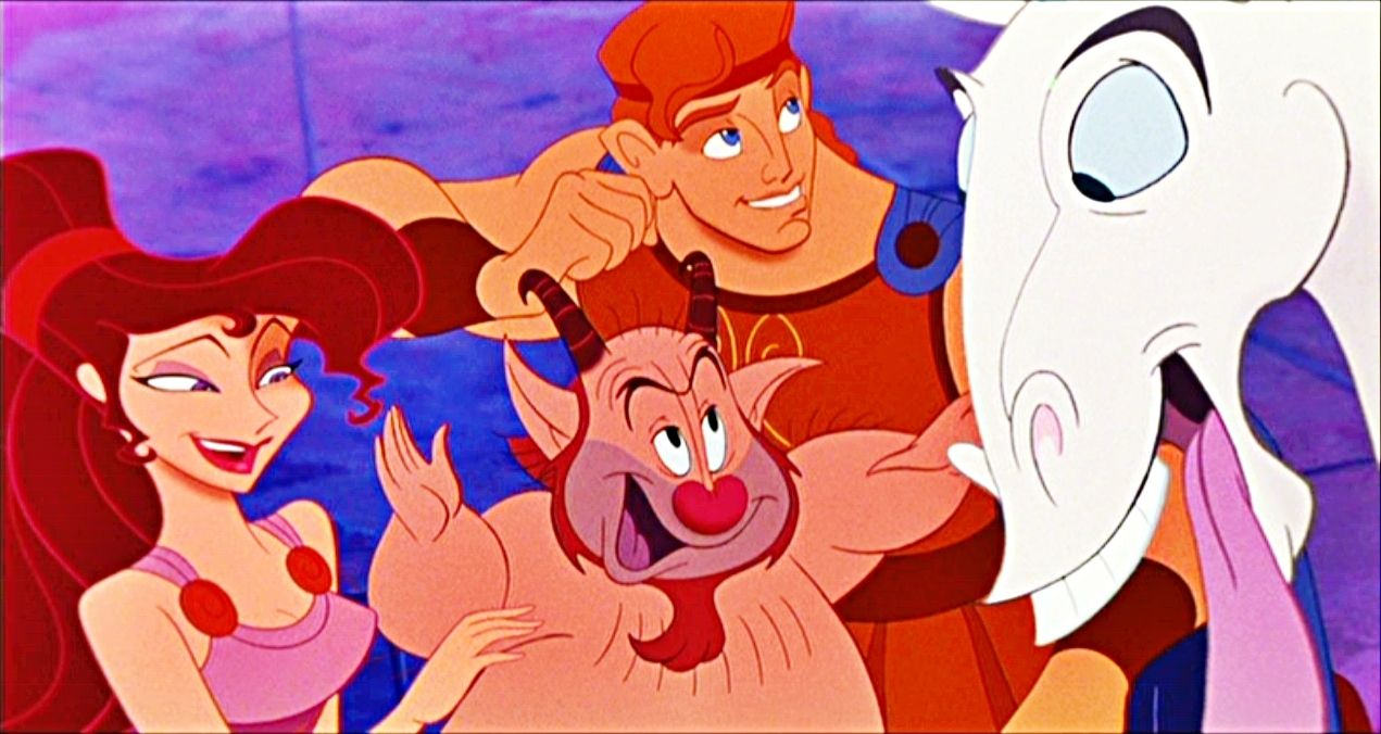 Meg,Phil,Hercules e Pegasus