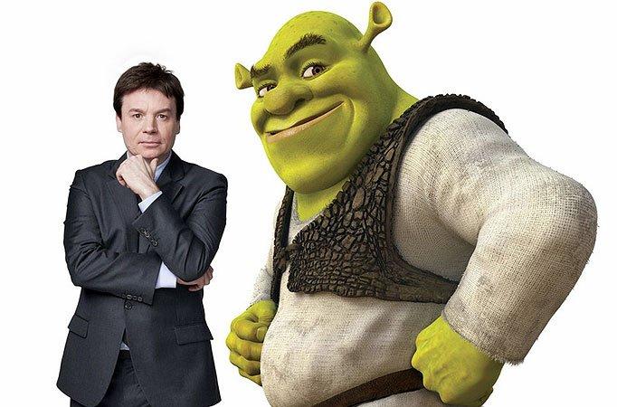 Mike Myers dublador do Shrek