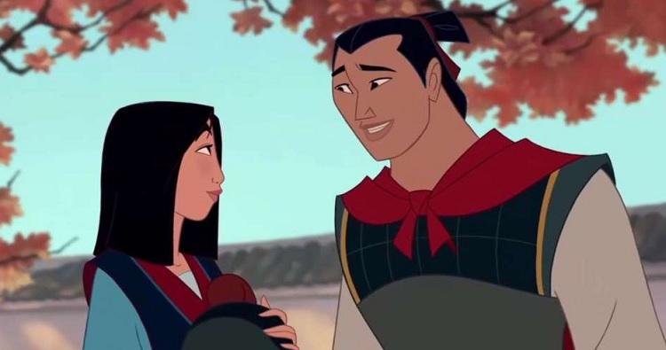 Mulan e Lee Shang