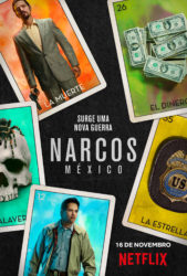 promocional informações Narcos México