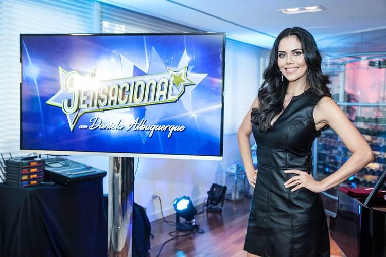 Rede TV! promove lançamento do Sensacional, programa de Daniela Albuquerque