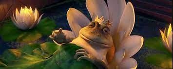 Rei Harold como sapo