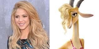 Shakira voz Gazelle