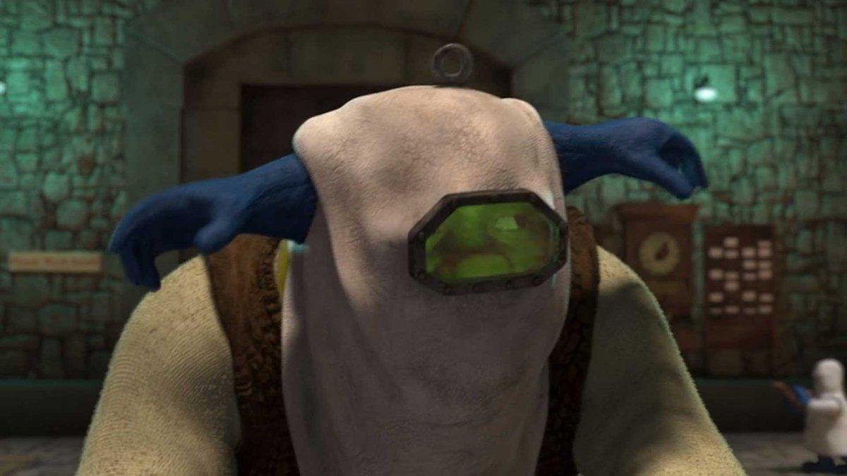 Shrek disfarçado