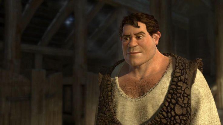 Shrek em forma humana