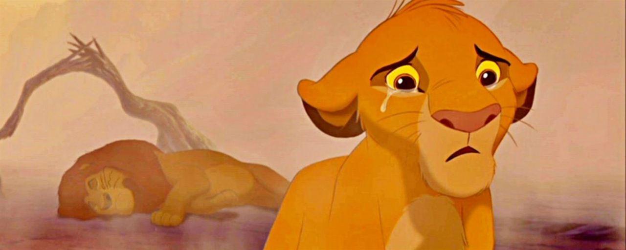 Simba chorando