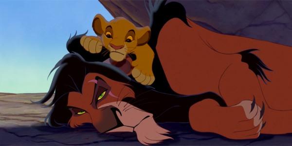 Simba e Scar