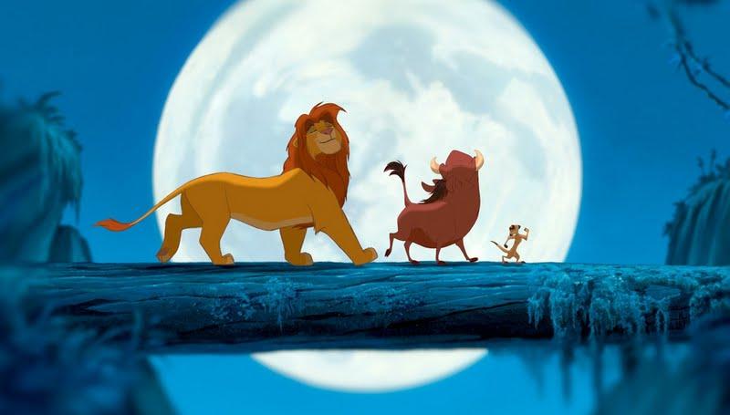 Simba,Pumba e Timao