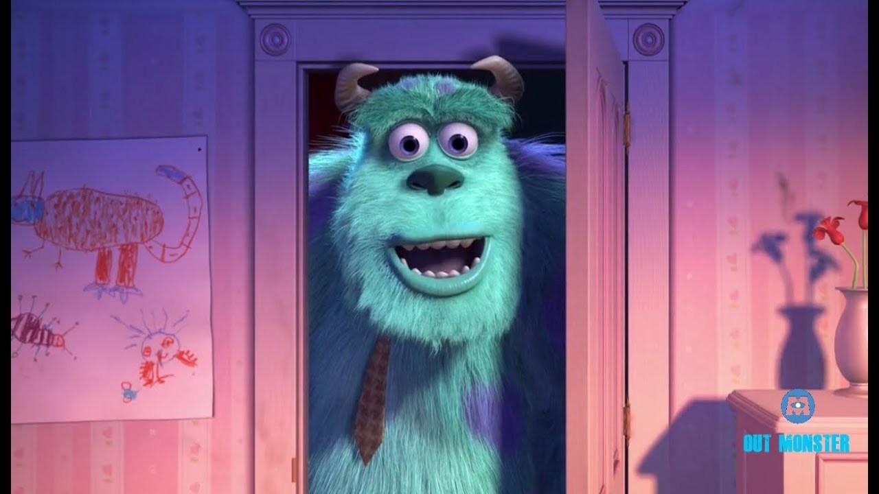 Sulley no quarto da Boo