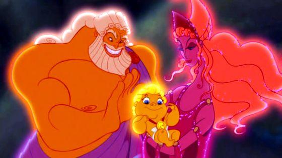 Zeus,Hercules e Hera