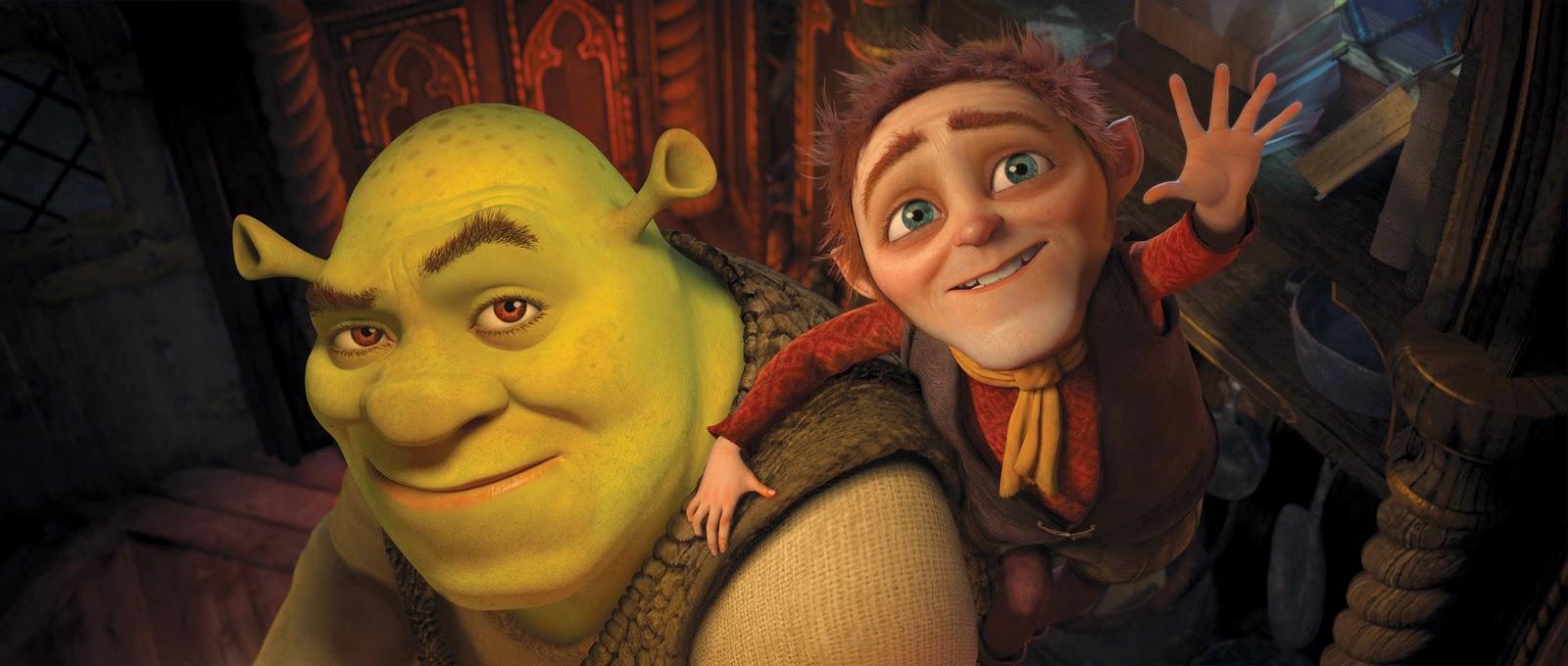 Shrek e Rumpelstiltskin