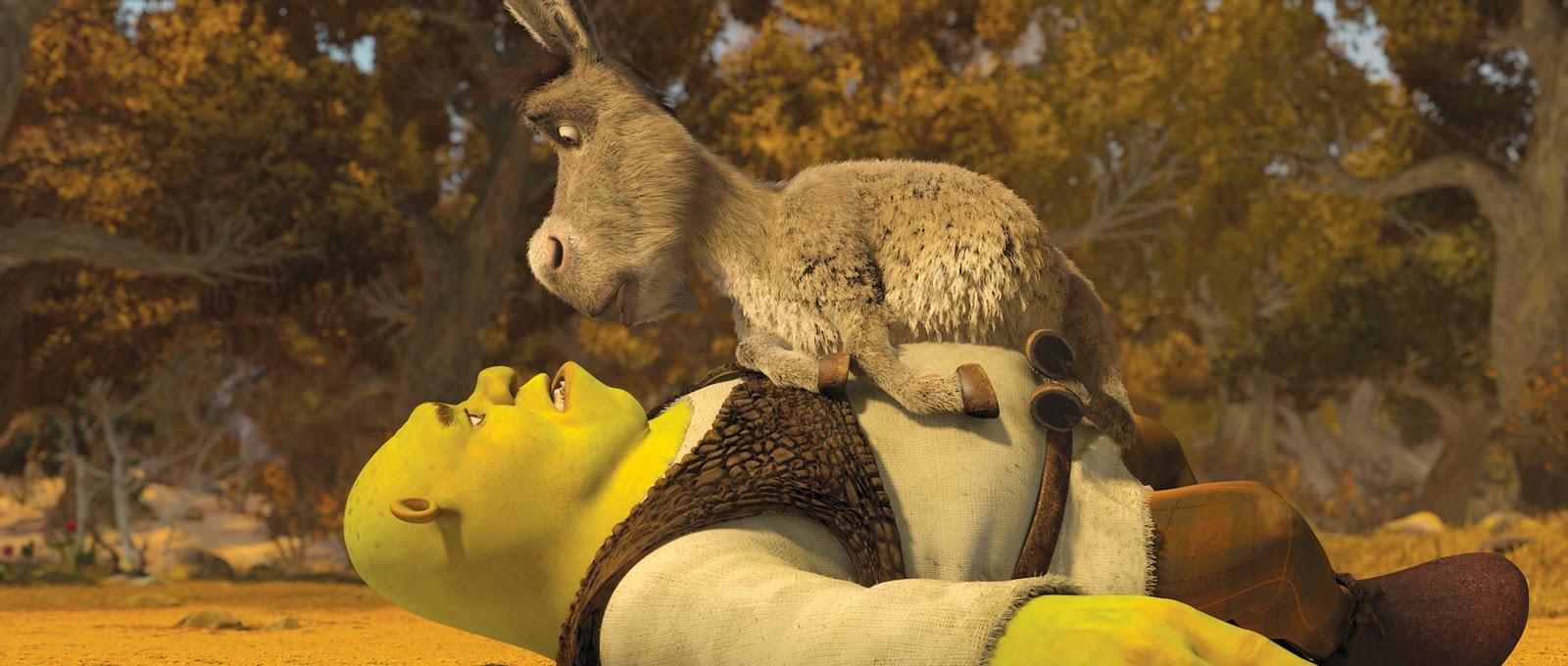Shrek e o Burro
